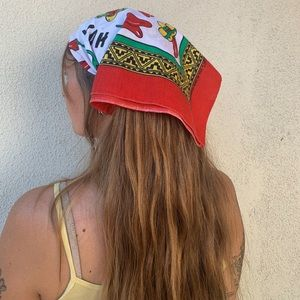 Vintage Hav-A-Hank red chili pepper bandana